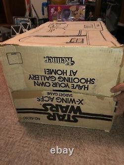 Vintage 1977 Kenner Star Wars X-wing As Jeu De Cible Dans La Boîte! Rare