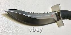 Vintage 1980' Rare Al Mar Warriors Seki Japan Dagger Knife Box Menthe