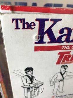 Vintage 1986 Remco 6 Pièces Action Figure Ensemble Karaté Kid Rare Boîte Rouge Rare