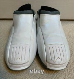Vintage Adidas Kobe Deux II Basketball Chaussures Hommes 12 White Space Moon 2 Rare Box