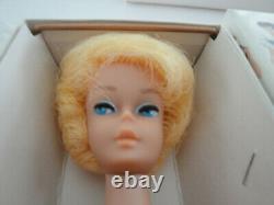 Vintage Barbie Bubble Cut Rare Platinum #850 Nrfb Toutes Original Et Box