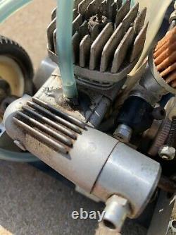 Vintage Duratrax Gt-10 Rare Rc Nitro/os Moteur Avec Box Et Decals D'origine