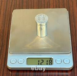 Vintage Gucci 925 Argent Fusil De Chasse Shell Stash/pill Box Ultra Rare Collectionnable