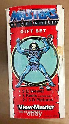 Vintage He-man Masters Of The Universe Viewmaster Coffret Cadeau 1983 Rare