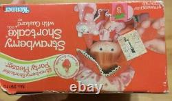 Vintage Kenner Party S'il Vous Plaît Strawberry Shortcake Rare Seeled Box Free Ship