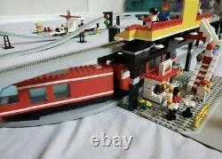 Vintage Lego 6399 Navette Aéroport Monorail À Partir De 1990 Very Rare
