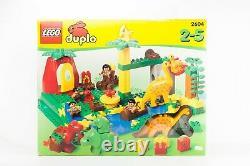 Vintage Lego Rare Duplo Dinosaur Set 2604 Dino World Caveman 21 Huge Seeled