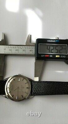 Vintage Lucien Piccard Sea Shark Watch Automatique Waterproof Avec Box Mint Rare