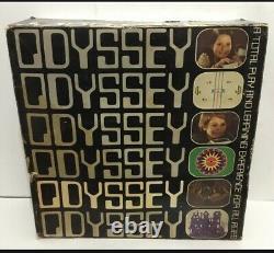 Vintage Magnavox Odyssey 1 1972 Console + Rifle + 6 Jeux En Boîte Supplémentaires Ensemble Rare