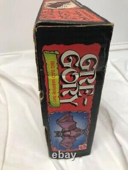 Vintage Mattel 1978 Gre-gory Gregory The Vampire Bat Gregory With Rare Box Wow