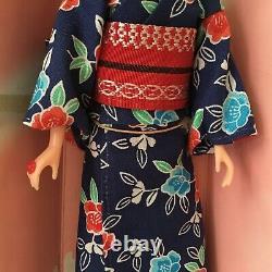 Vintage Mattel Takara 1980s Rare Japonais Barbie Doll Kimono Boxed