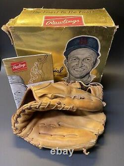 Vintage Rare 1962 Stan Musial Modèle Personnel 6 Gants De Baseball Avec Boîte D'origine
