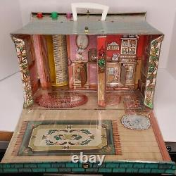 Vintage Rare 1974 Mego The Wizard Of Oz Munchkinland Jeu Set 1970's Toy With Box