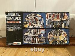 Vintage Rare Star Wars Palitoy Death Star Playset 1977 Complet Avec Boîte