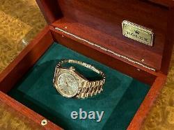 Vintage Rolex Day-date Président Solid Rose Gold Ultra Rare Edition Spéciale