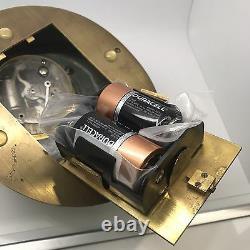 Vintage Rolex So Rare Horloge De Bureau Hoof Temps À La Seconde Avec La Boîte 1950