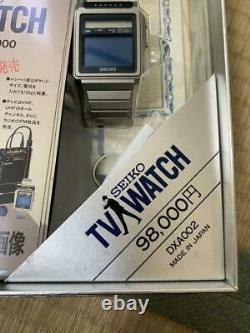 Vintage Seiko Tv Regarder Avec La Boîte Ne Peut Pas Regarder La Télévision Très Rare