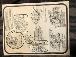 Vintage Star Wars Slave 1 Boba Fetts Vaisseau Spatial Version Canadienne Complète