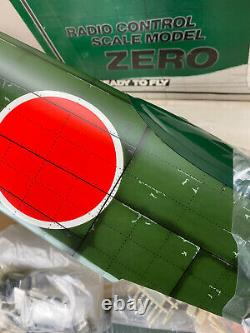 Vtg Rare Ez Zero Sports Aviation Co. Ltd Dans La Case Rtf Arf Complete Échelle Rc Kit