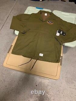 Wtaps Vans Vault Torrey Jacket XL Rare Vtg Japan Box Logo Syndicate Olive Camo
